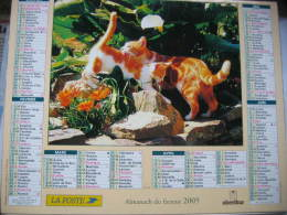Almanach Du Facteur 2005 Département 68 En Très Bon état. Document PTT. Editions Oberthur - Calendarios