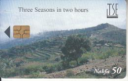 ERITREA - Landscape, Three Seasons In Two Hours 2(TSE), Chip GEM3.3, Used - Eritrea