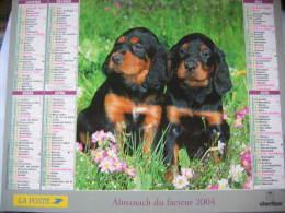Almanach Du Facteur 2004 Département 68 En Très Bon état. Document PTT. Editions Oberthur - Calendarios