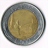 Italy 1983 500 Lire - 1946-… : Republic
