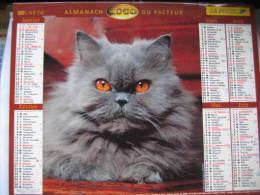 Almanach Du Facteur 2000 Département 68 En Très Bon état. Document PTT. Editions Lavigne - Calendriers