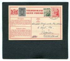 Nederlands-Indië Verhuiskaart 1949 Nr.10 - Netherlands Indies