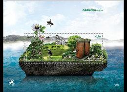 Portugal 2013 - Apiculture - Azores Souvenir Sheet Mnh - Honeybees