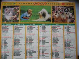 Almanach Du Facteur 1998 Département 68 En Très Bon état. Document PTT. Editions Lavigne - Calendarios