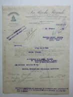 Facture Invoice Litho La Ruche Picarde Magasins Généraux Alimentation Amiens 1923 - Droguerie & Parfumerie