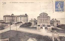 62 WIMEREUX LE CASINO ET LE SPENDID HOTEL RARE CLICHE - France