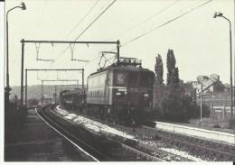 SNCB - Farciennes -- Ligne 130 - Locomotive électrique Type 29.   (2 Scans) - Farciennes