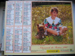 Almanach Du Facteur 1995 Département 68 En Très Bon état. Document PTT. Editions Oller - Calendarios
