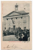 Zundert De Honderdjarige Van Zundert. Gelopen Kaart 1900 Zie Scans - Non Classés