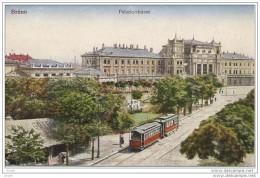 Groot lot van 1 kilo 833 gram, postkaarten met TRANSPORT (auto's, trams, trein, boten, trucks, ...) zie foto's