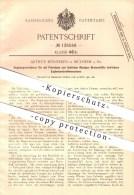 Original Patent - Arthur Bönneken In Mülheim A. Rh. , 1901 , Explosionskraftmaschinen , Kraftmaschinen , Petroleum !!! - Historische Dokumente