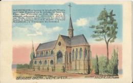 Zutendaal.  -  St. Jozefskerk ;  ;  Architekt An.  Driessen  Genk - Zutendaal