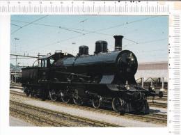 CHEMINS De FER FEDERAUX  SUISSES   -    Locomotive Pour Trains  Rapides  A  3/5  705 -  Musée  Suisse Des Transports - L - Eisenbahnen