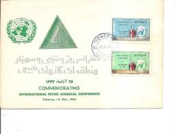 Iran -Pétrole ( FDC De 1964 à Voir) - Iran