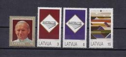 Latvia Mint (**) 1993 Baltic Stamp Pope Paul 2 - Lettonie
