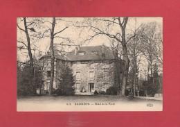 * CPA..dépt 77..BARBIZON :  Hôtel  De La Forêt..n°818..Scan A  : Voir Les  2 Scans - Hotels & Restaurants
