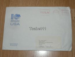 S Gravenhage Nederland 1986 Zalaegerszeg Hungary Mission Viejo San Francisco USA Envelope Envelop - Periode 1980-... (Beatrix)