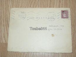 Pozsony Bratislava Hungary Slovakia Boritek Envelope 1948 Budapest - Eslovaquia