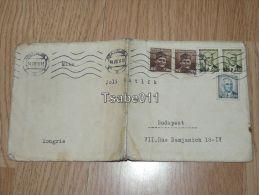 Pozsony Bratislava Hungary Slovakia Boritek Envelope 1946 Budapest - Non Classificati