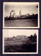 2 Real Photo.WW2.Russia.Pskov.19 41.Pskov Kremlin. - Guerra 1939-45
