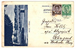 SELCE, DOPISNA KARTA ILLUSTRATED CARD DOPISNICA KRALJEVINA JUGOSLAVIJA  2 SCAN - Covers & Documents