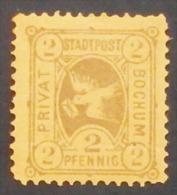 Poste Privee Allemande (German Private  Post,  Deutsch Privatpost ) BOCHUM, Express Packet Verkehr Und Privat Brief Verk - Poste Privée