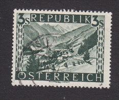 Austria, Scott #498, Used, Scenes Of Austria, Issued 1946 - 1945-.... 2nd Republic