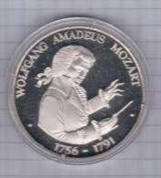 Germany 1991 Mozart Composer Music Compositeur Musique Opera Medal Medaille - Allemagne