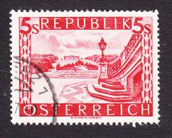 Austria, Scott #499, Used, Scenes Of Austria, Issued 1946 - 1945-.... 2. Republik