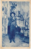 Japan Circus Card, Mr. Oak Texan Cowboy Rope Trick Performance Entertainment, C1920s Vintage Card - Other