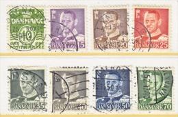 DENMARK  318 +   (o)   1950-51  Issue - Denmark