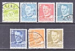 DENMARK  333 +   (o)   1952-53  Issue - Denmark