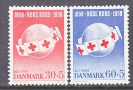 DENMARK  B 26-7   **  RED  CROSS - Unused Stamps