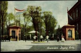 Cp Amsterdam Nordholland Niederlande, Ingang Artis - Pays-Bas