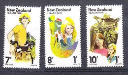New Zealand 1976 Health Set - Mint - New Zealand