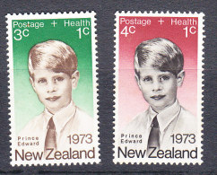New Zealand 1973 Health Set - Mint - Unused Stamps
