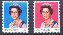 New Zealand 1985 Queen Elizabeth 11 - Used - Used Stamps