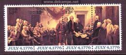 U.S. 1691-94   **  DECLARATION Of INDEPENDENCE - United States