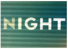 (543) 3-D Postcard - Carte 3 Dimensions - Night - La Nuit - - Unclassified