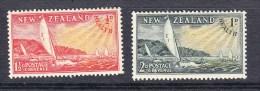 New Zealand 1951 Health Set   - Mint - Unused Stamps