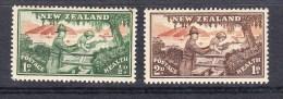 New Zealand 1946 Health Set   - Mint - Unused Stamps