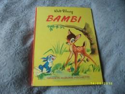 BAMBI 1964 Livre Grand Format - Disney