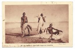 AU LOGONE, UNE BELLE CHASSE AUX CROCODILES - Tchad, Afrique - Braun & Cie, �diteurs cocessionnaires....