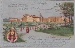 Official Souvenir Worlds Fair St Louis 1904, Art Palace (pk18106) - Expositions
