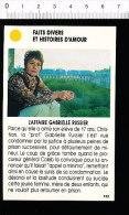 L´affaire Gabrielle RUSSIER   /  01-ES-FD/2 - Vieux Papiers