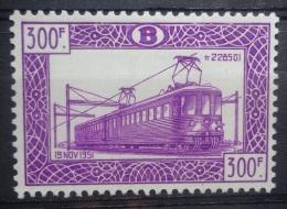BELGIE   Spoorweg 1952   TR  321  Postfris **      CW  160,00