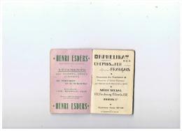 CALENDRIER  S N C F ORPHELINAT Des CHEMINS DE FER FRANCAIS   1935 - Ferrovie
