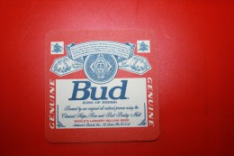 SOUS BOCKS Biere Bud - Portavasos