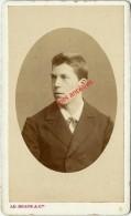1885-CDV 3 Sur 4-Fernand AUGUSTIN Jour Du Tirage Au Sort Futur Directeur Banque Indochine à Shangaï-par Braun à Paris - Anciennes (Av. 1900)