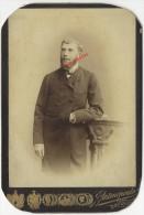 1893-Grand CDV CAB- 4 Sur 4-Fernand AUGUSTIN Futur Directeur Banque Indochine à Shangaï-par Antonopoulo à Odessa Russie - Anciennes (Av. 1900)
